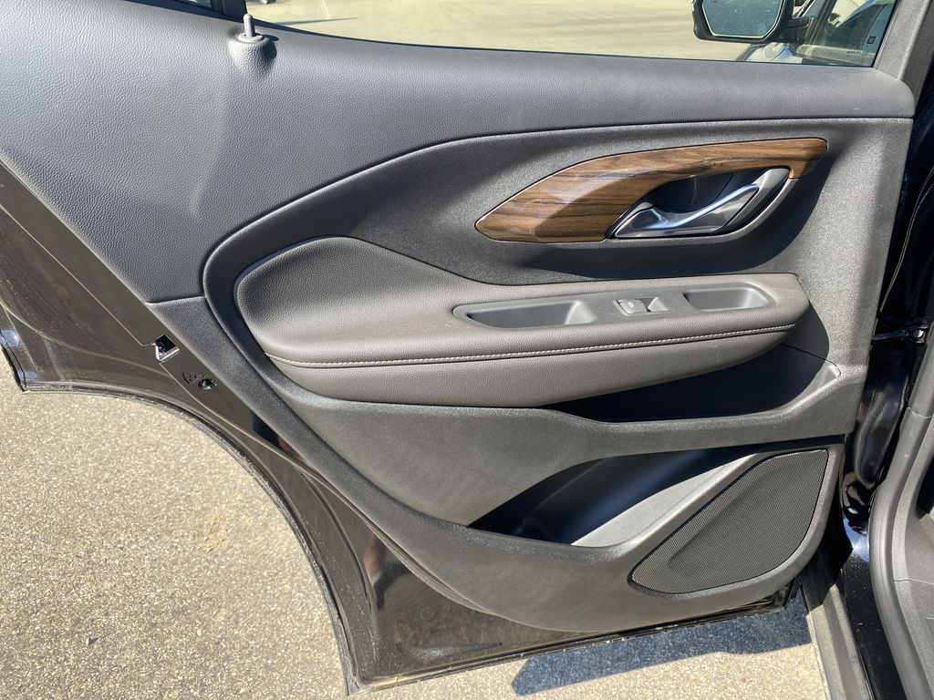 Black[Ebony Twilight Metallic] 2020 GMC Terrain Left Rear Interior Door Panel Photo in Edmonton AB