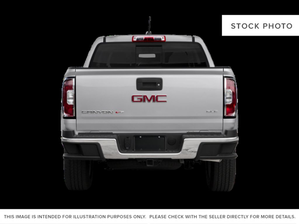 Red[Red Quartz Tintcoat] 2020 GMC Canyon Rear of Vehicle Photo in Edmonton AB