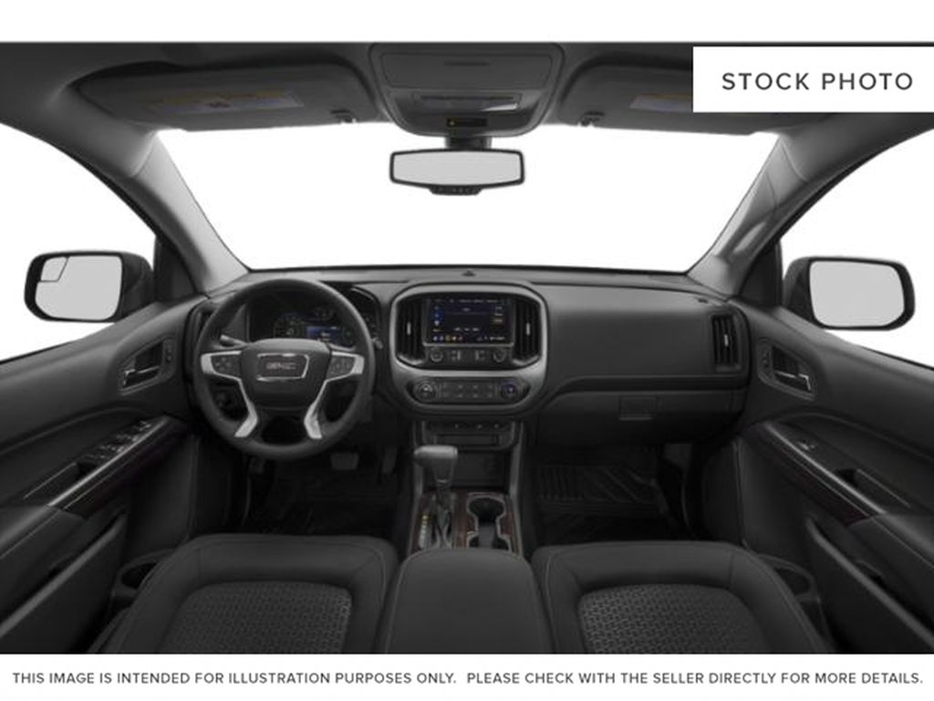 Red[Red Quartz Tintcoat] 2020 GMC Canyon Central Dash Options Photo in Edmonton AB