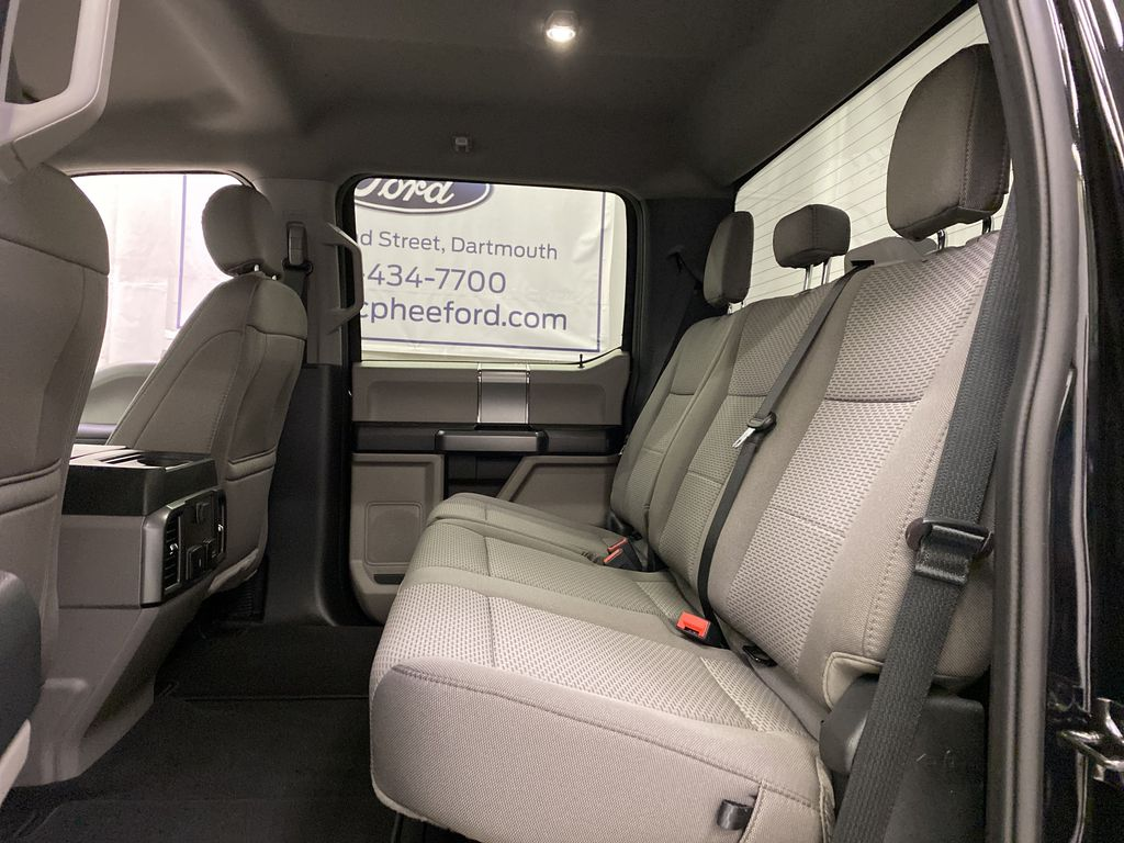Black[Agate Black Metallic] 2020 Ford Super Duty F-250 SRW Left Side Rear Seat  Photo in Dartmouth NS