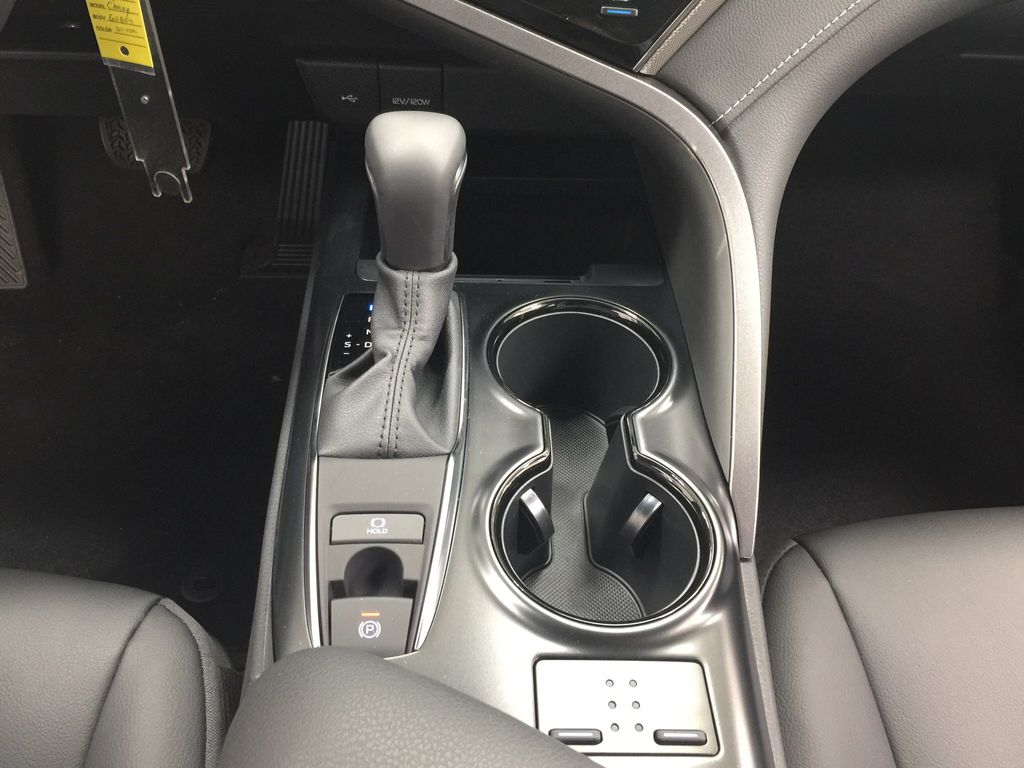 Silver[Celestial Silver Metallic] 2020 Toyota Camry SE Lower Dash Photo in Sherwood Park AB
