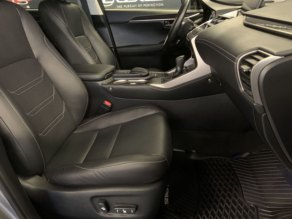 Silver[Atomic Silver] 2017 Lexus NX 200t Right Side Front Seat  Photo in Edmonton AB