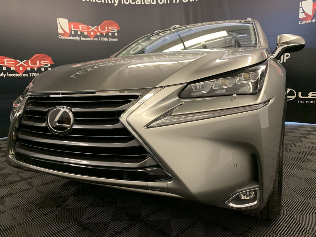 Silver[Atomic Silver] 2017 Lexus NX 200t Left Front Head Light / Bumper and Grill in Edmonton AB