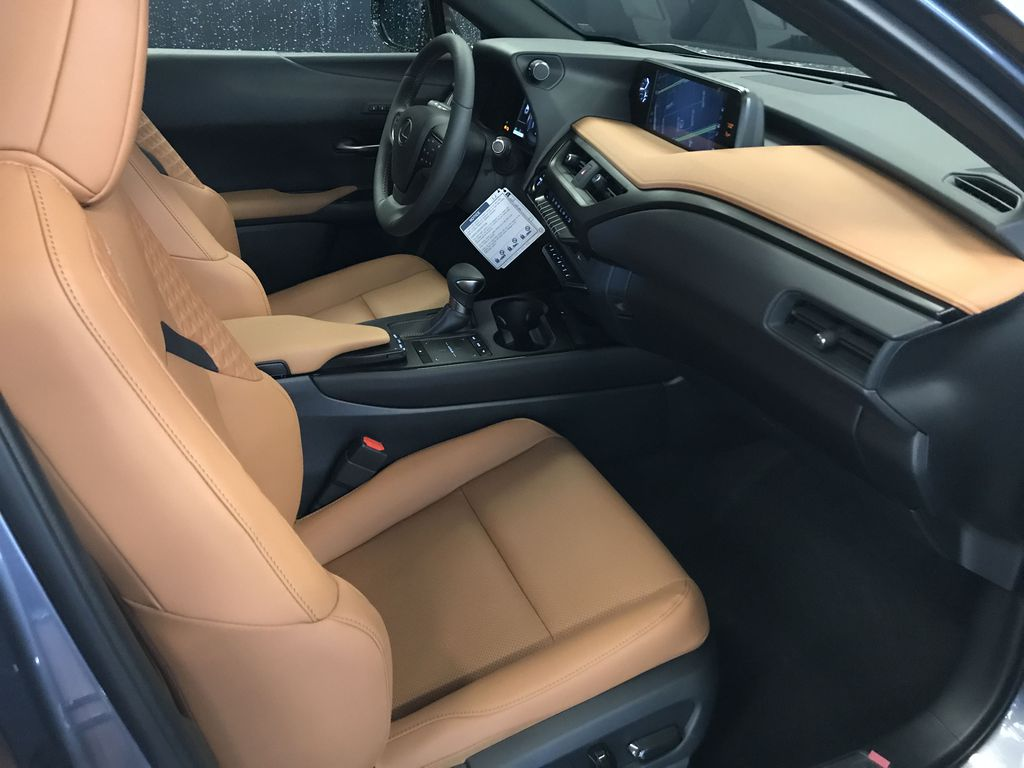 Nebula Grey Pearl 2020 LEXUS UX 250H Luxury Package Right Side Front Seat  Photo in Edmonton AB