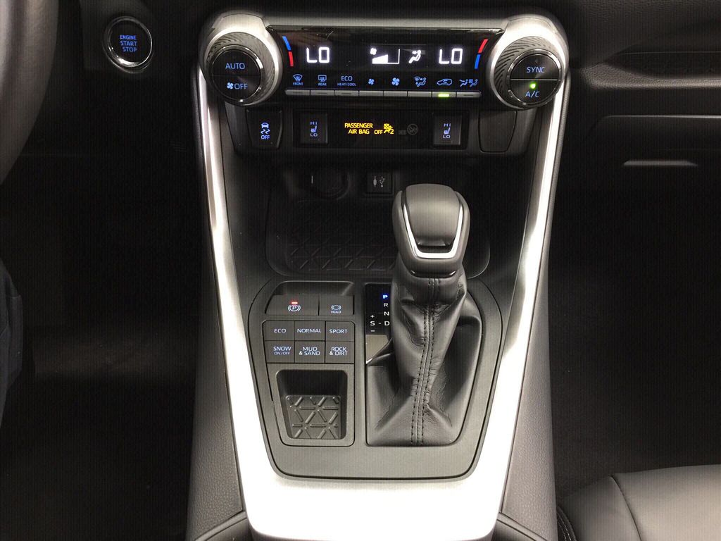 Gray[Magnetic Grey Metallic] 2020 Toyota RAV4 XLE Premium Lower Dash Photo in Sherwood Park AB