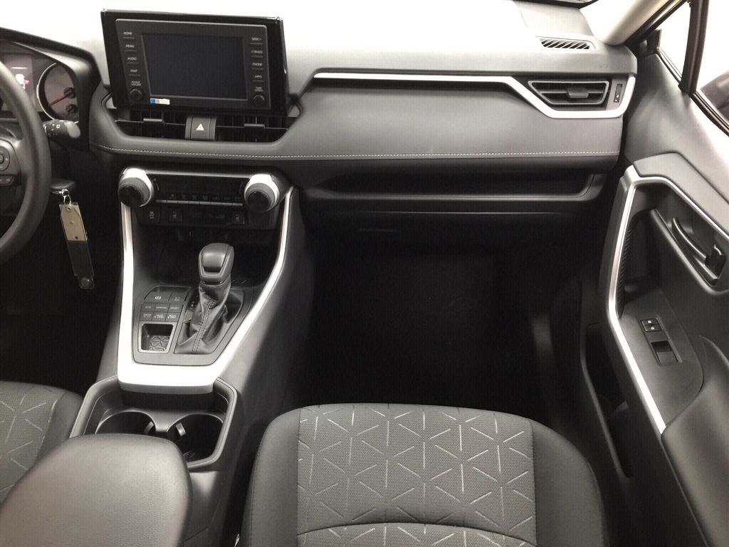 Gray[Magnetic Grey Metallic] 2020 Toyota RAV4 LE AWD Right Front Seat Photo in Sherwood Park AB
