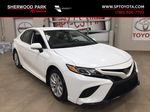 White[Super White] 2020 Toyota Camry SE Primary Listing Photo in Sherwood Park AB