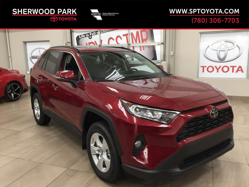 Red[Ruby Flare Pearl] 2020 Toyota RAV4 XLE FWD