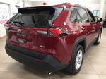 Red[Ruby Flare Pearl] 2020 Toyota RAV4 XLE FWD Right Rear Corner Photo in Sherwood Park AB