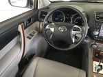 Silver[Classic Silver Metallic] 2011 Toyota Highlander Limited Hybrid Left Front Interior Door Panel Photo in Kelowna BC