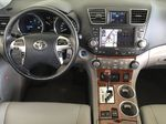 Silver[Classic Silver Metallic] 2011 Toyota Highlander Limited Hybrid Steering Wheel and Dash Photo in Kelowna BC