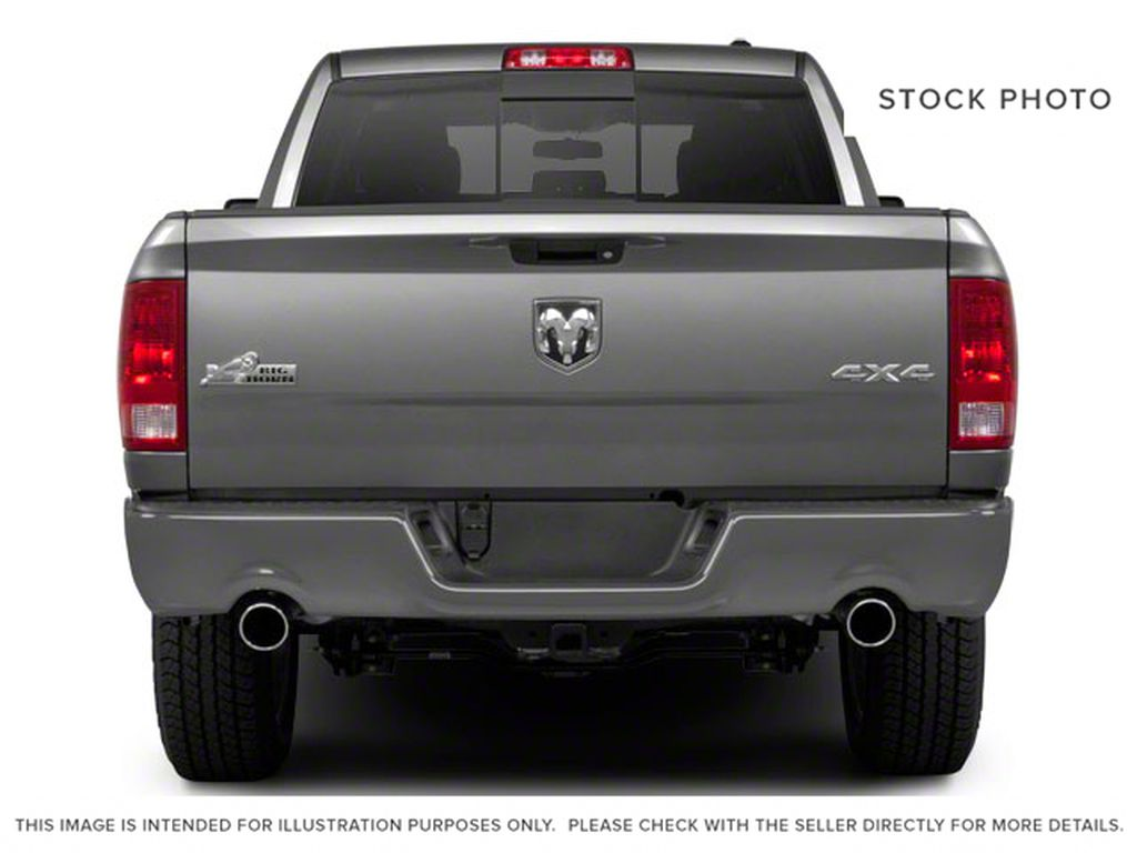 Black[Black] 2012 Ram 1500 Rear of Vehicle Photo in Medicine Hat AB