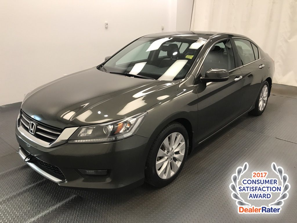 Grey 2014 Honda Accord Sedan