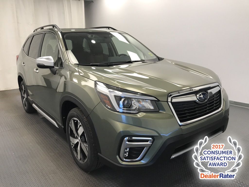 Green 2020 Subaru Forester