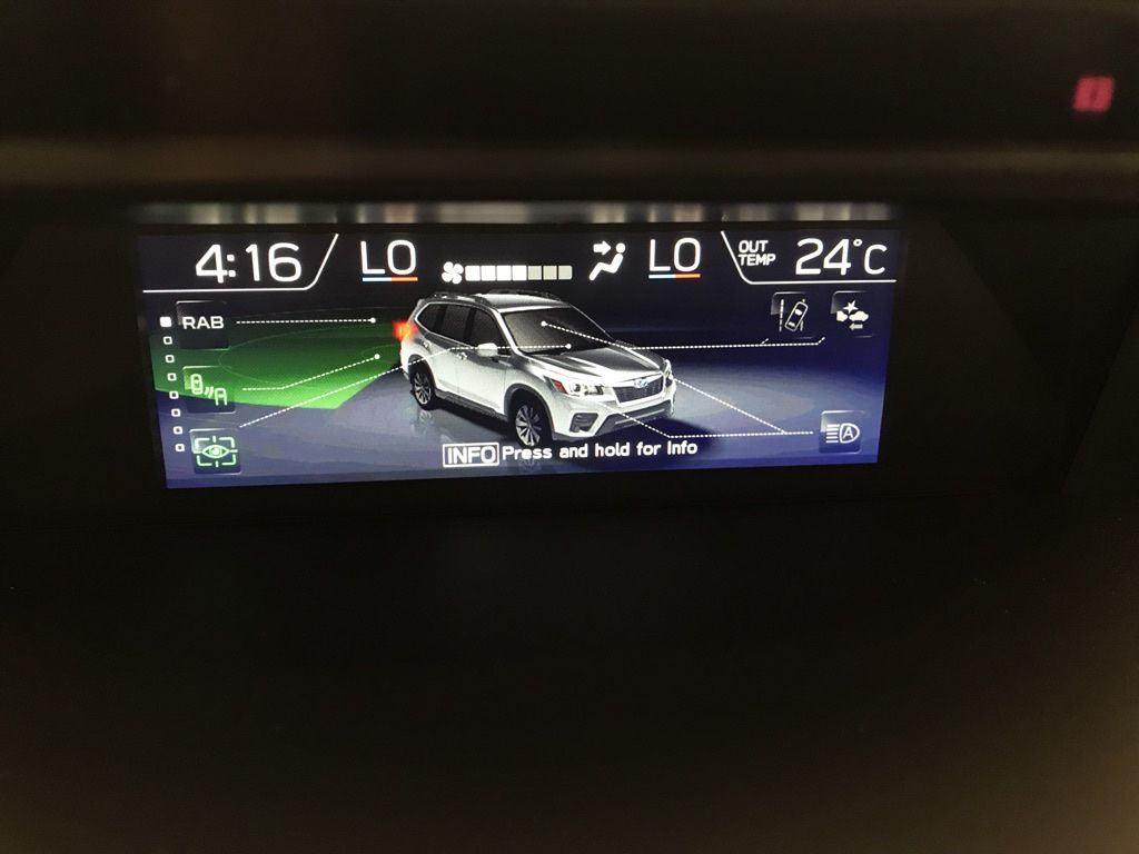 Green 2020 Subaru Forester Steering Wheel and Dash Photo in Lethbridge AB