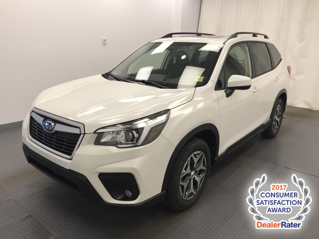 White 2020 Subaru Forester