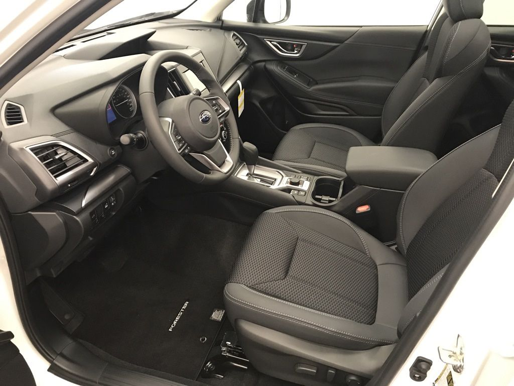 White 2020 Subaru Forester Left Side Rear Seat  Photo in Lethbridge AB