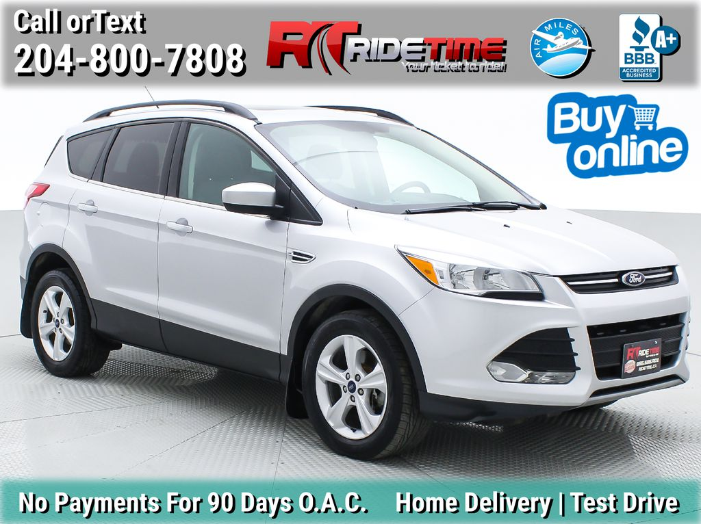 Silver[Ingot Silver Metallic] 2014 Ford Escape SE AWD - Panoramic Roof, MyFord Touch, SAT Radio