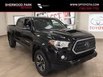 Black[Midnight Black Metallic] 2019 Toyota Tacoma TRD Sport Premium Upgrade Primary Listing Photo in Sherwood Park AB