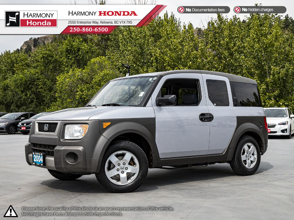Pre-Owned 2004 Honda Element Y Pkg - LOCAL VEHICLE - LOW KM - 2ND SET OF TIRES