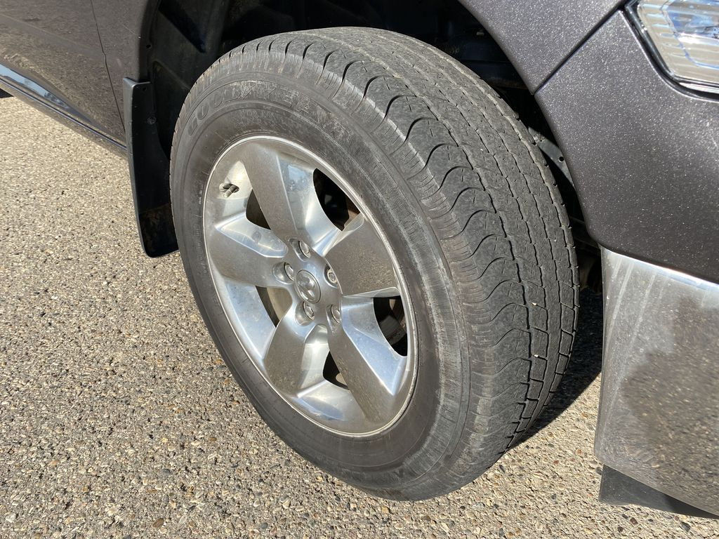 Gray 2019 Ram 1500 Classic *Bluetooth**Back-Up Cam* Left Front Rim and Tire Photo in Brandon MB