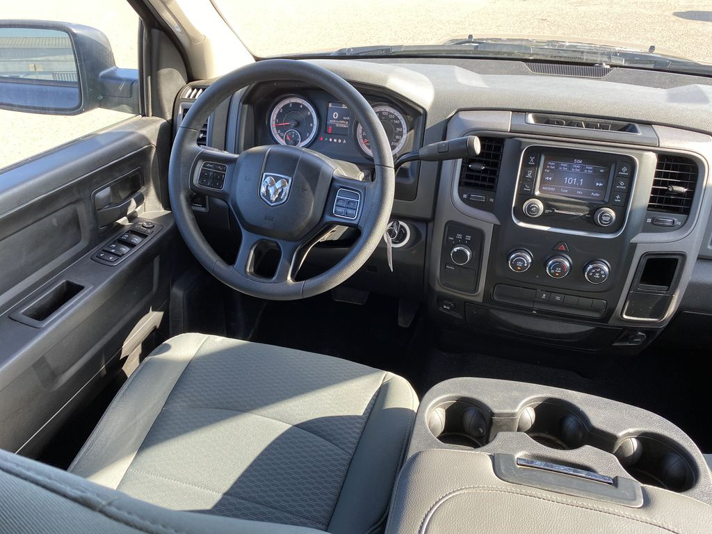 Gray 2019 Ram 1500 Classic *Bluetooth**Back-Up Cam* Steering Wheel and Dash Photo in Brandon MB
