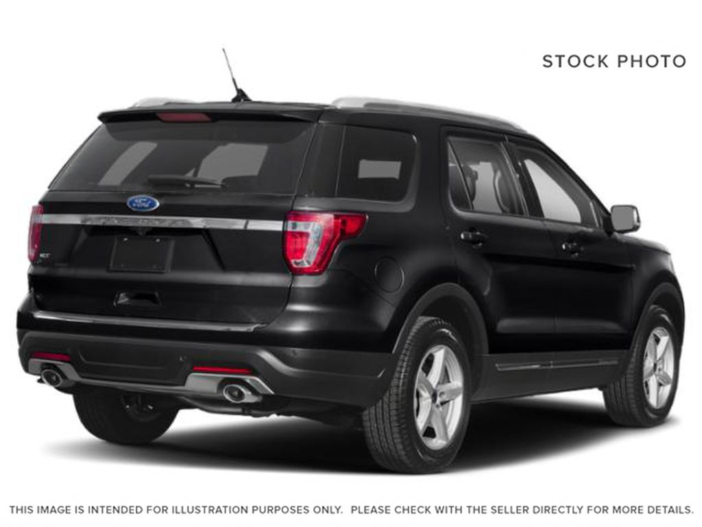 Black[Shadow Black] 2018 Ford Explorer Right Rear Corner Photo in Dartmouth NS