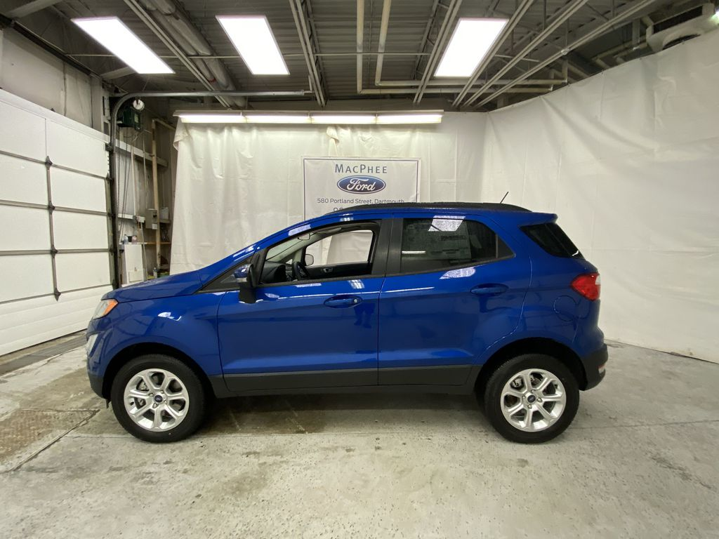 Blue[Blue Candy Metallic Tinted Clearcoat] 2020 Ford EcoSport Left Side Photo in Dartmouth NS