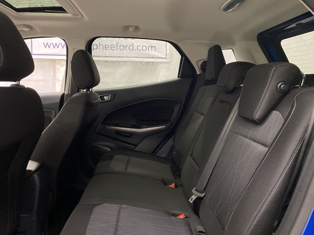 Blue[Blue Candy Metallic Tinted Clearcoat] 2020 Ford EcoSport Left Side Rear Seat  Photo in Dartmouth NS