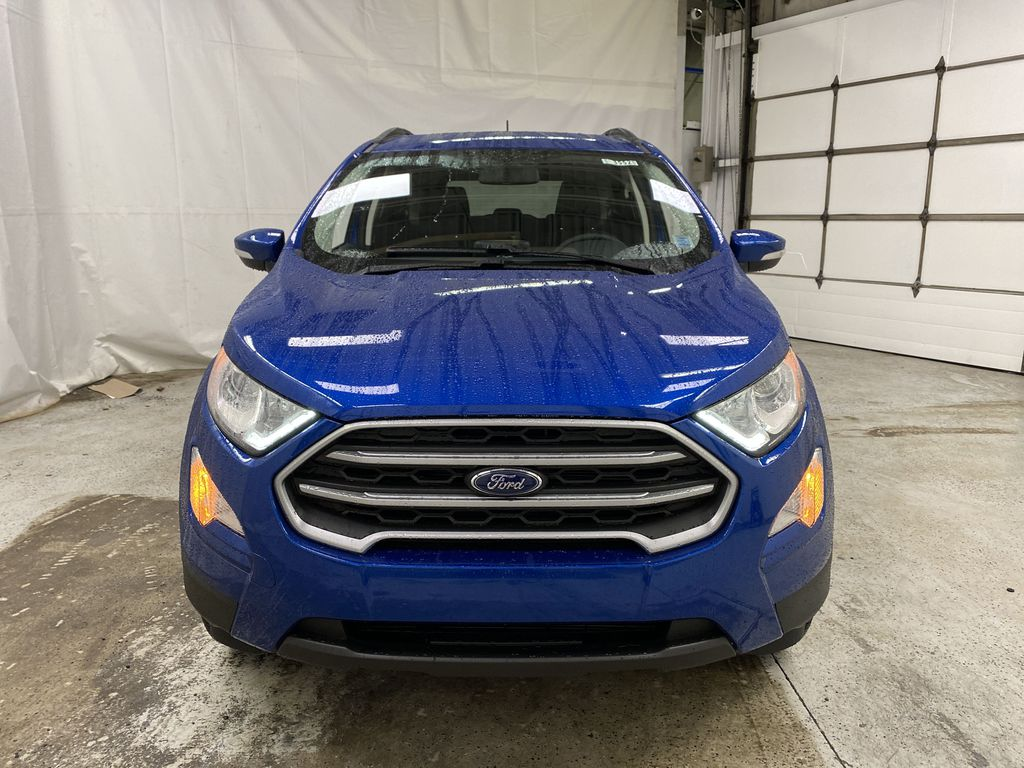 Blue[Blue Candy Metallic Tinted Clearcoat] 2020 Ford EcoSport Front Vehicle Photo in Dartmouth NS