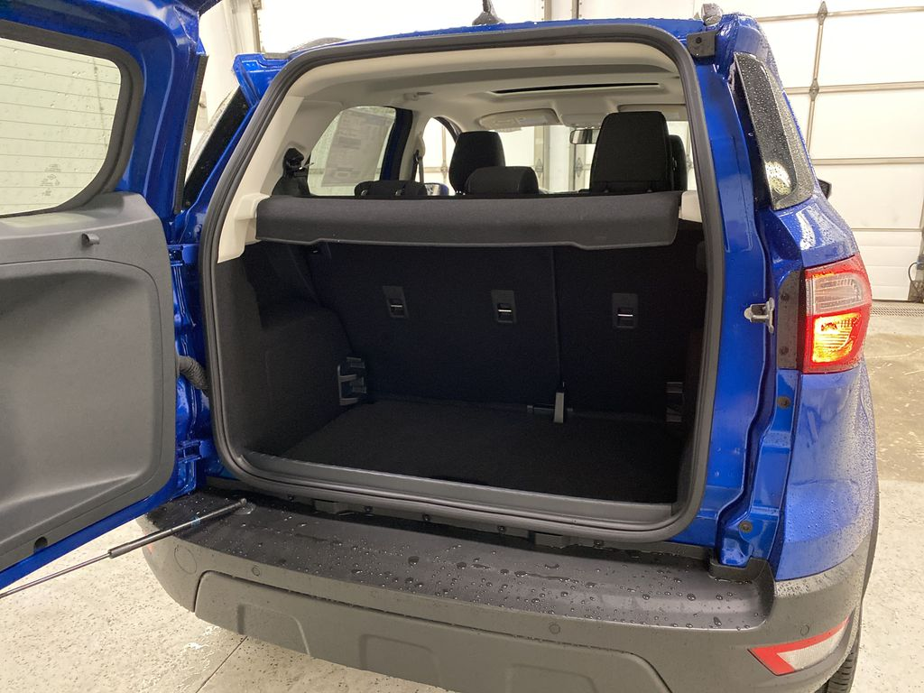Blue[Blue Candy Metallic Tinted Clearcoat] 2020 Ford EcoSport Trunk / Cargo Area Photo in Dartmouth NS