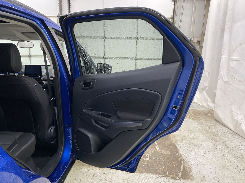 Blue[Blue Candy Metallic Tinted Clearcoat] 2020 Ford EcoSport Right Rear Interior Door Panel Photo in Dartmouth NS