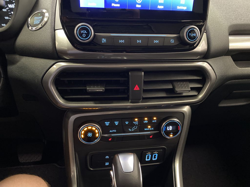 Silver[Moondust Silver Metallic] 2020 Ford EcoSport Central Dash Options Photo in Dartmouth NS
