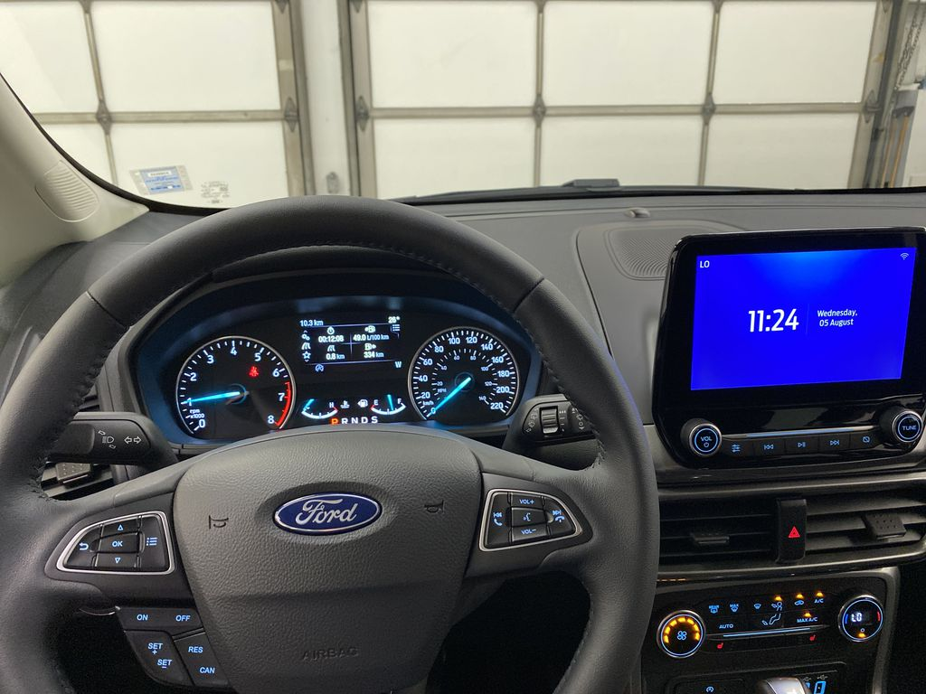Silver[Moondust Silver Metallic] 2020 Ford EcoSport Steering Wheel and Dash Photo in Dartmouth NS