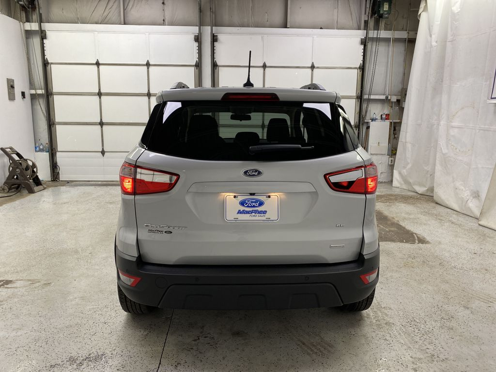 Silver[Moondust Silver Metallic] 2020 Ford EcoSport Rear of Vehicle Photo in Dartmouth NS