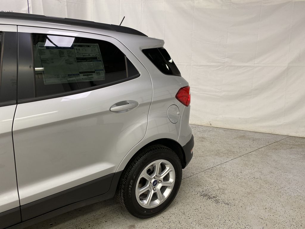 Silver[Moondust Silver Metallic] 2020 Ford EcoSport Left Rear Corner Photo in Dartmouth NS