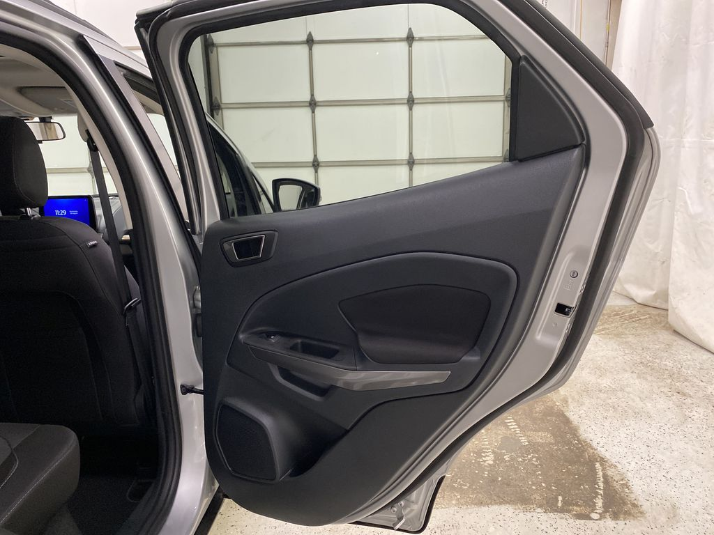 Silver[Moondust Silver Metallic] 2020 Ford EcoSport Right Rear Interior Door Panel Photo in Dartmouth NS