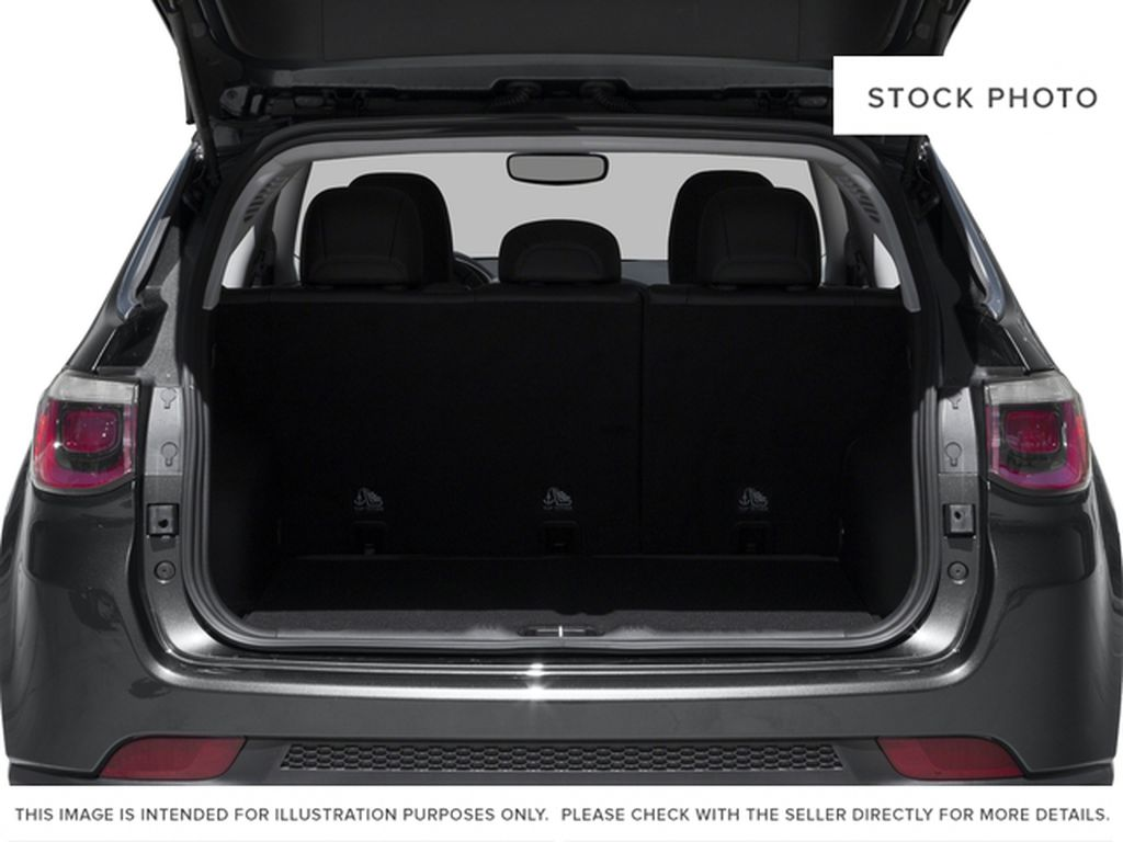 Silver[Billet Metallic] 2018 Jeep Compass Trunk / Cargo Area Photo in Cold Lake AB