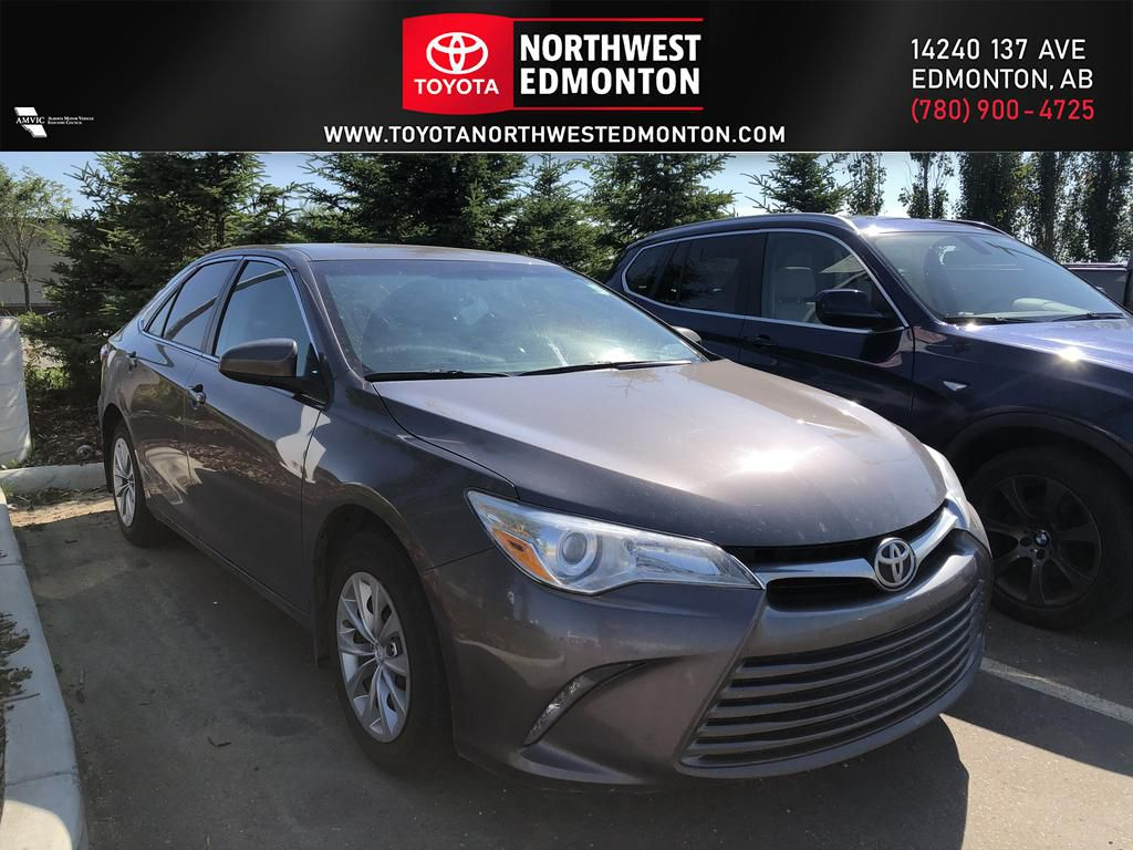 Grey 2015 Toyota Camry LE