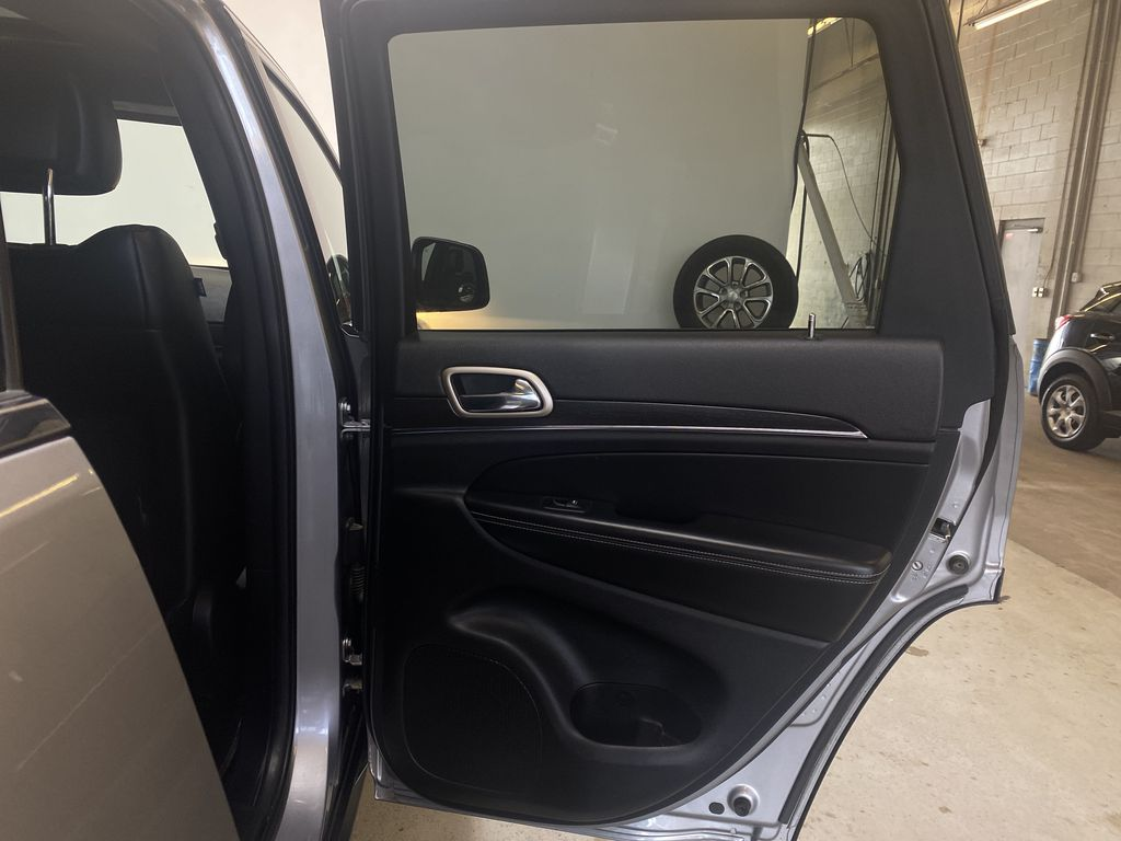 SILVER 2014 Jeep Grand Cherokee Limited - Summer/Winter Tires, Remote Start, Heated Leather Right Rear Interior Door Panel Photo in Edmonton AB
