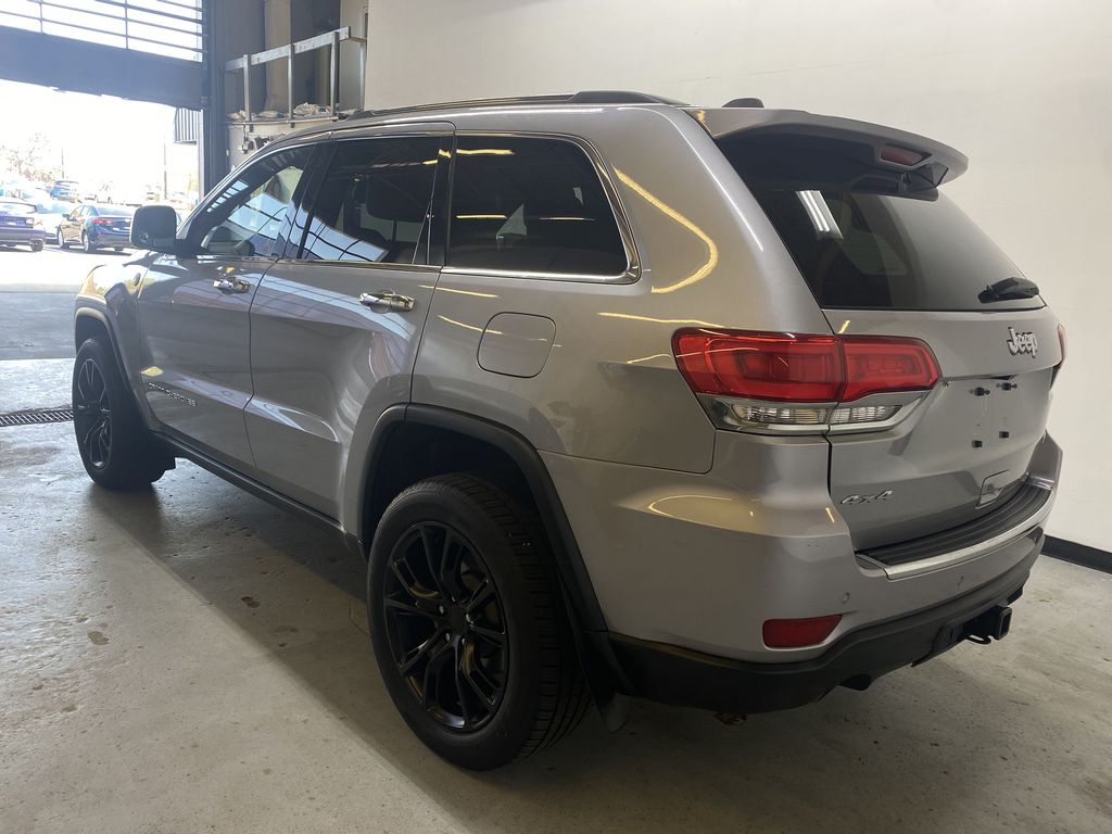 SILVER 2014 Jeep Grand Cherokee Limited - Summer/Winter Tires, Remote Start, Heated Leather Left Rear Corner Photo in Edmonton AB