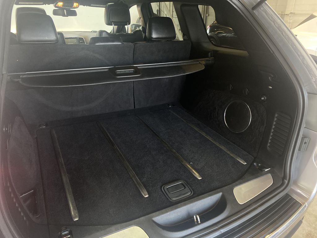 SILVER 2014 Jeep Grand Cherokee Limited - Summer/Winter Tires, Remote Start, Heated Leather Trunk / Cargo Area Photo in Edmonton AB