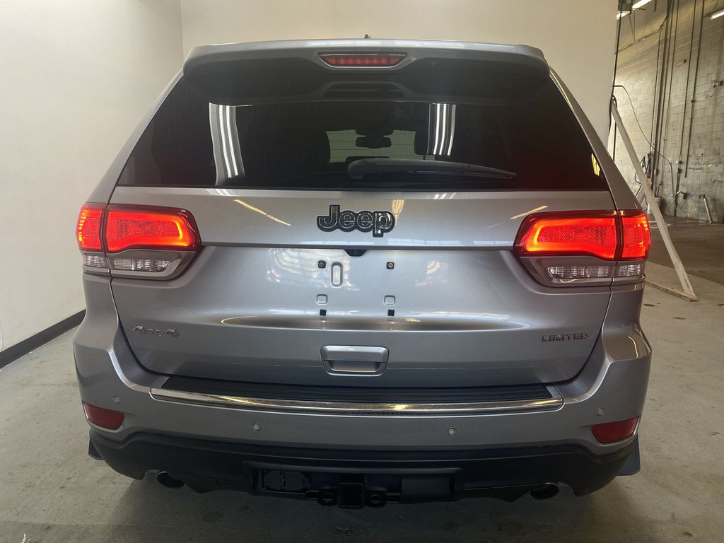 SILVER 2014 Jeep Grand Cherokee Limited - Summer/Winter Tires, Remote Start, Heated Leather Rear of Vehicle Photo in Edmonton AB