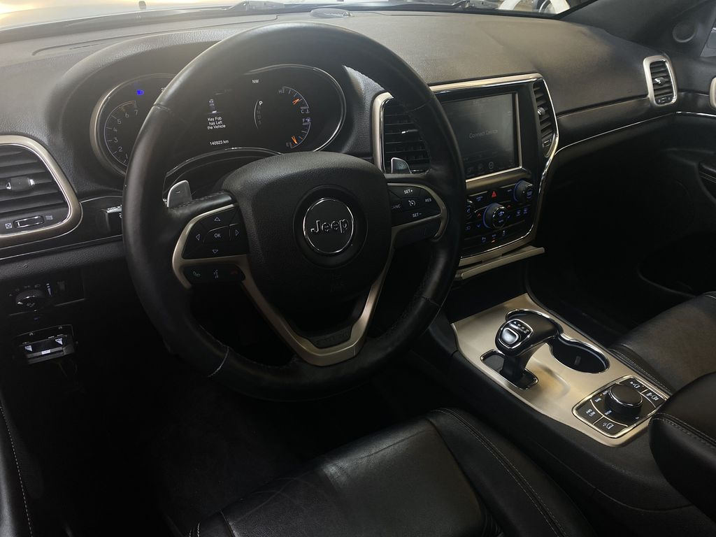 SILVER 2014 Jeep Grand Cherokee Limited - Summer/Winter Tires, Remote Start, Heated Leather Steering Wheel and Dash Photo in Edmonton AB