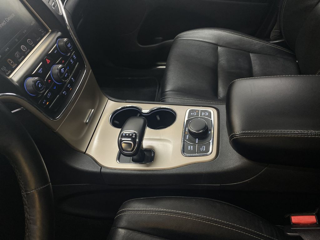 SILVER 2014 Jeep Grand Cherokee Limited - Summer/Winter Tires, Remote Start, Heated Leather Center Console Photo in Edmonton AB