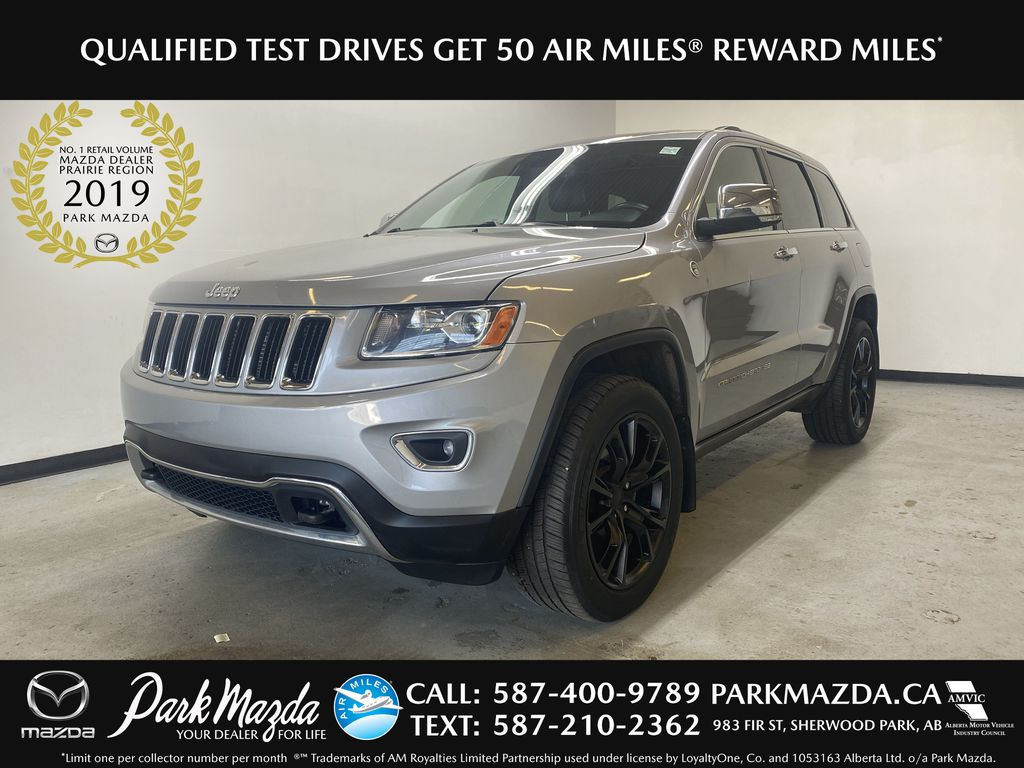 SILVER 2014 Jeep Grand Cherokee Limited - Summer/Winter Tires, Remote Start, Heated Leather