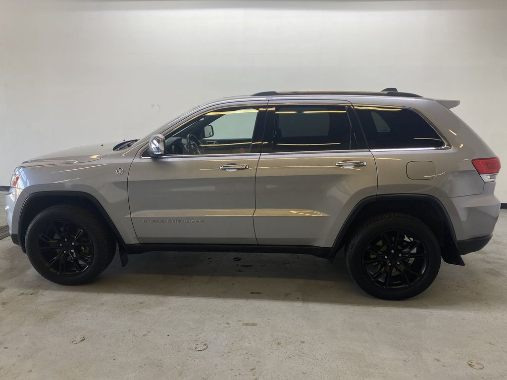 SILVER 2014 Jeep Grand Cherokee Limited - Summer/Winter Tires, Remote Start, Heated Leather Left Side Photo in Edmonton AB