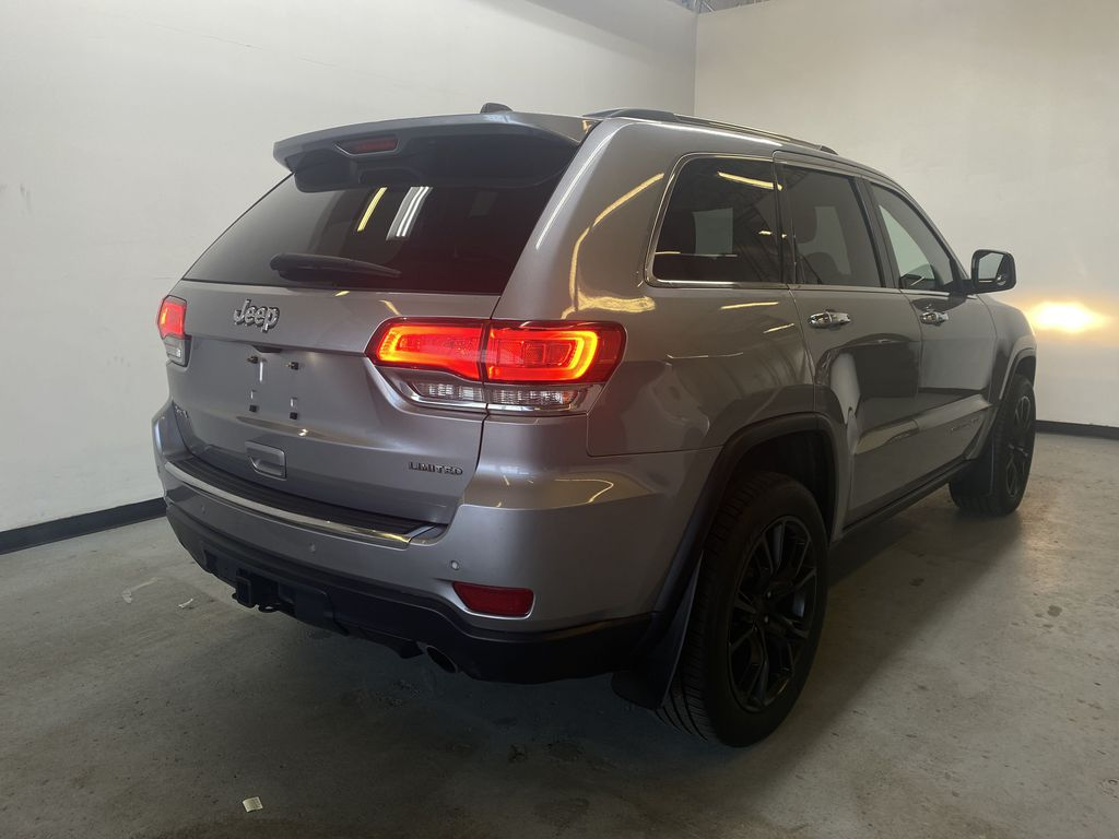 SILVER 2014 Jeep Grand Cherokee Limited - Summer/Winter Tires, Remote Start, Heated Leather Right Rear Corner Photo in Edmonton AB