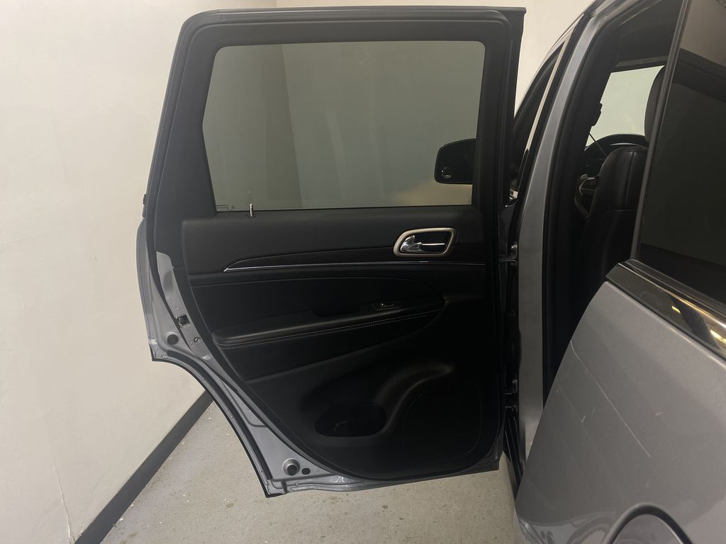 SILVER 2014 Jeep Grand Cherokee Limited - Summer/Winter Tires, Remote Start, Heated Leather Left Rear Interior Door Panel Photo in Edmonton AB