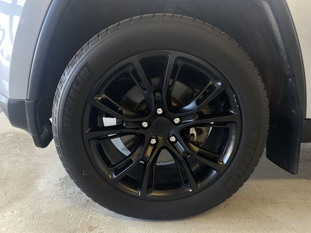 SILVER 2014 Jeep Grand Cherokee Limited - Summer/Winter Tires, Remote Start, Heated Leather Left Front Rim and Tire Photo in Edmonton AB